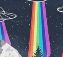 Spaceships Sticker