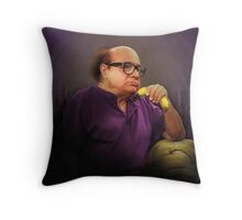 Frank Reynolds with Banana Throw Pillow