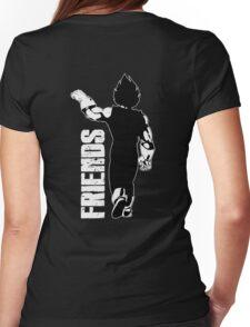 Couple Best Friends Vegeta Womens Fitted T-Shirt