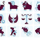 Horoscope cute symbols by tan295