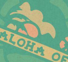 ALOHA OE Turtle tatoo  Sticker