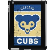 cubs chicago iPad Case/Skin