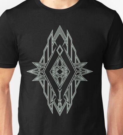 Abstract Triangle Art Pattern Unisex T-Shirt