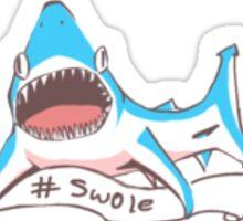 "DoucheShark ""#Swole"" Sticker"