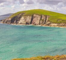 Dunmore Head Panorama - County Kerry - Ireland Sticker