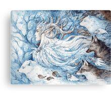 Spirits of winter Canvas Print