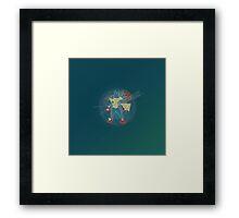Mega_Lucario#3 Framed Print