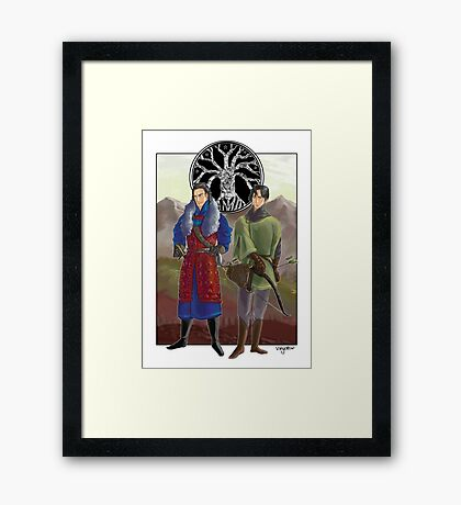Sons of Denethor Framed Print