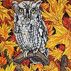 Autumn Owl by Rachelle Dyer