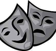 Drama Masks by Cetraey