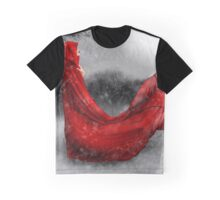 Red Winter Graphic T-Shirt