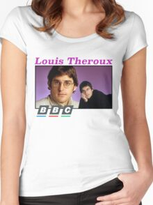 Louis Theroux x BBC Women's Fitted Scoop T-Shirt