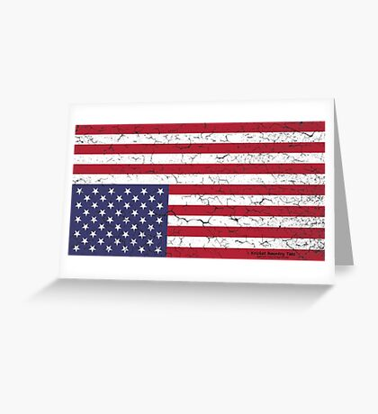 AMERICA:  Country in DIRE DISTRESS! Greeting Card