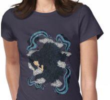 Irregular Sleeping Pattern Womens Fitted T-Shirt
