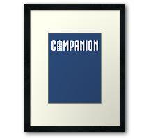 Doctor's Companion Framed Print