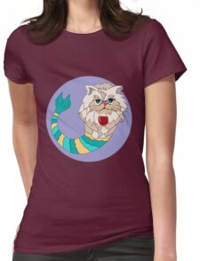 Lilly the Persian Purrmaid Womens Fitted T-Shirt