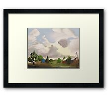 After the Storm-Glory Framed Print