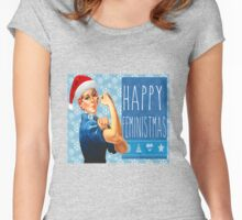 Feministmas! Women's Fitted Scoop T-Shirt