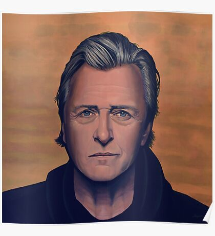 Rutger Hauer Painting Poster