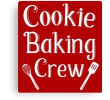 Cookie Baking Crew Canvas Print