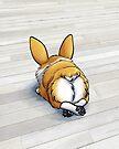 """Fluffy Butt"" Corgi by shivae"