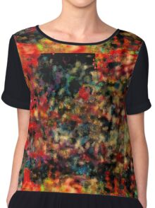Oil Paint Art - 119 Chiffon Top