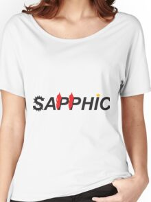 Sapphic- Butch version Women's Relaxed Fit T-Shirt