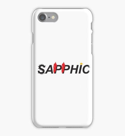 Sapphic- Butch version iPhone Case/Skin