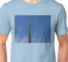 Angel Statue - London Temple Unisex T-Shirt