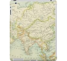 Old map of Asia iPad Case/Skin