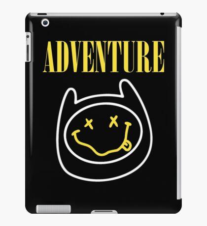 Adventure Time - Nirvana Mashup iPad Case/Skin