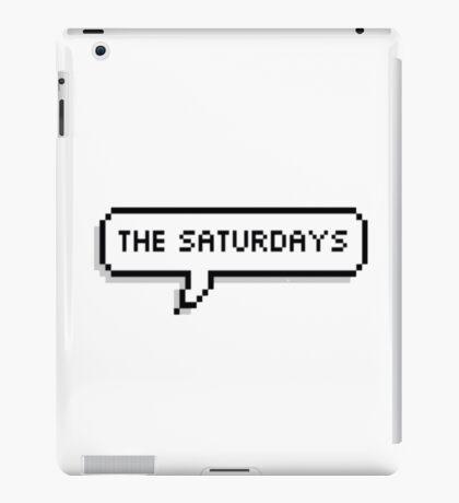 """The Saturdays"" Pixel Speechbubble iPad Case/Skin"