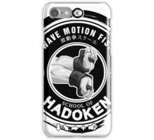 Hadoken school clean iPhone Case/Skin