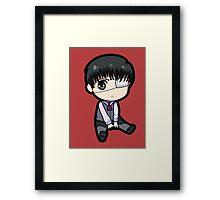 Kaneki Ken (Tokyo Ghoul) Framed Print