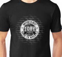 British Is Best Logo •Toby Clements• Unisex T-Shirt