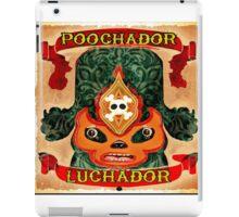 Poochador Luchador iPad Case/Skin