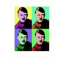 Hitler Warhol Art Print
