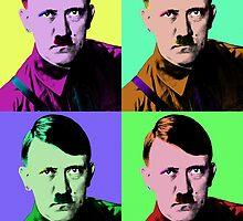 Hitler Warhol by Jesse Metcalfe