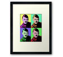 Hitler Warhol Framed Print