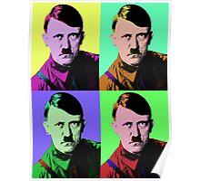 Hitler Warhol Poster