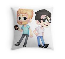 Rhett and Link Throw Pillow
