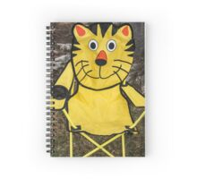 Meow! Waiting For You!  Spiral Notebook