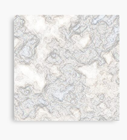 Recycled Crumpled Paper Canvas Print