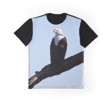 African Fish Eagle Graphic T-Shirt
