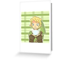 Link And Navi Greeting Card