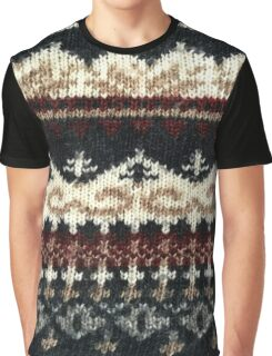 Vintage Sweater Graphic T-Shirt
