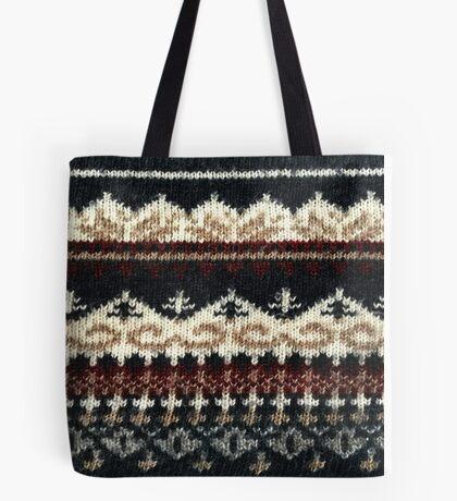 Vintage Sweater Tote Bag
