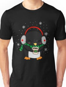 Cocoa Time Penguin Unisex T-Shirt