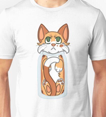 Cat Stuck in Bottle Unisex T-Shirt