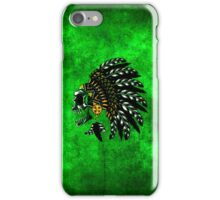 indian skull iPhone Case/Skin